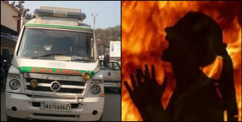Image: Father set fire to daughter in Haridwar