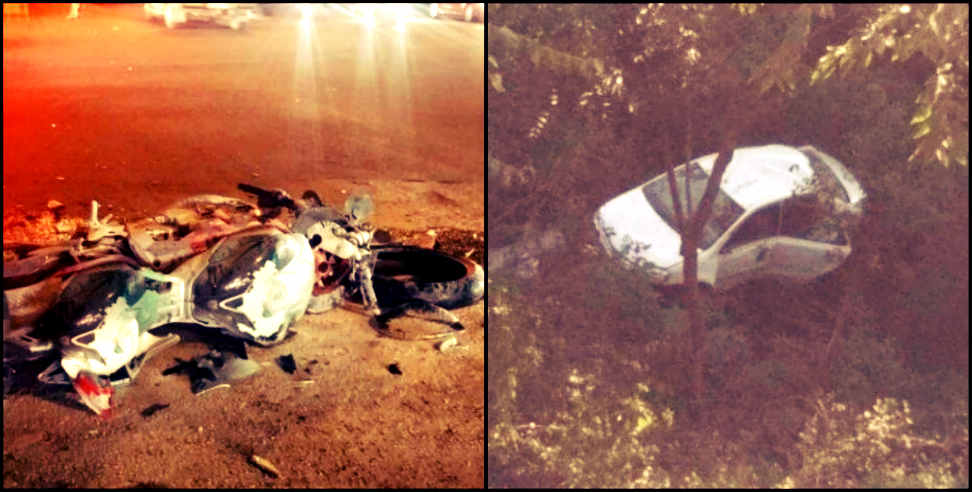 Image: three road accident in uttarakhand four people died