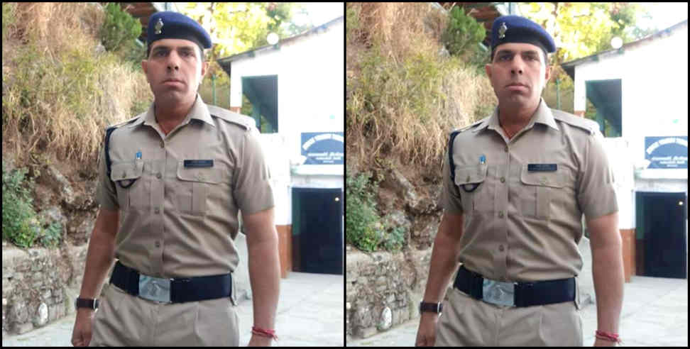 Image: Police constable gajendra chauhans song now trending
