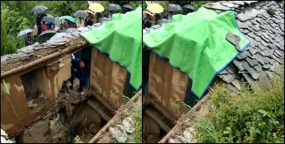 Image: Three people died due to heavy rain in Almora