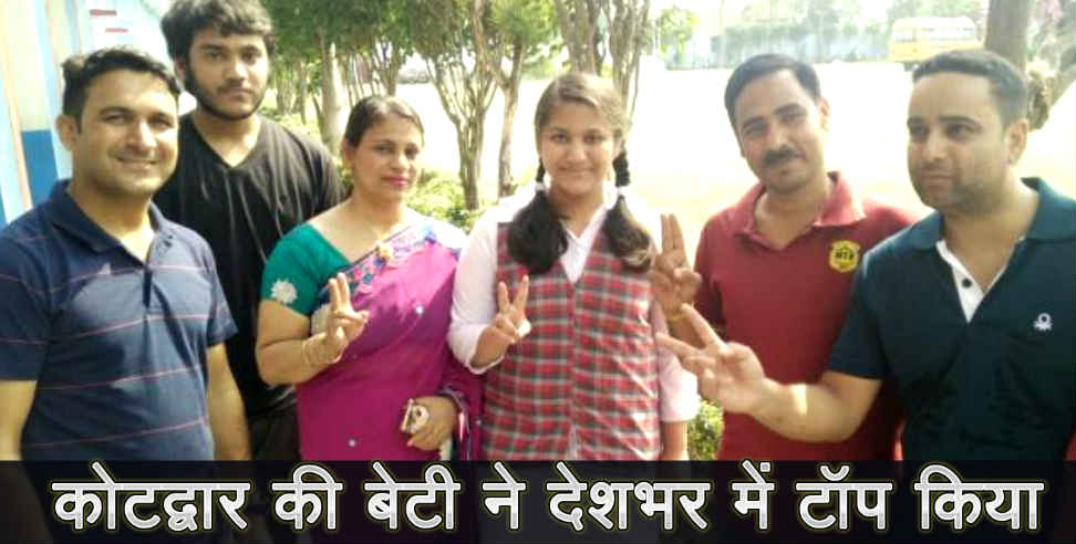 Image: Uttarakhand girl rimjhim become topper of india in cbse result