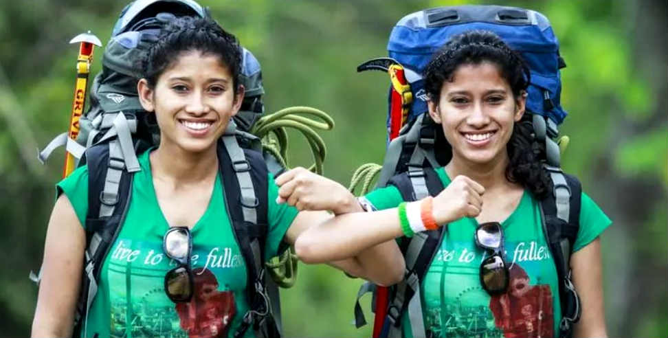 Image: Tashi And Nungshi Depart For Eco Challenge 2019 With Man Vs Wild Show Host Bear Grylls