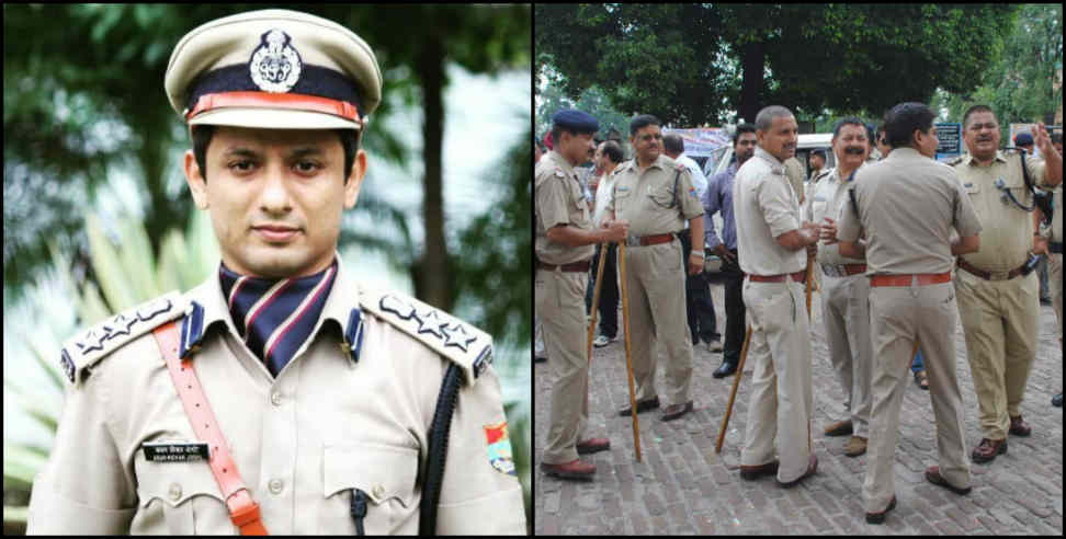 Image: Dehradun ssp warns cops