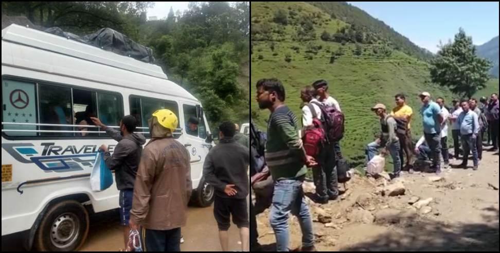 Wedding stuck in Chamoli amid landslide