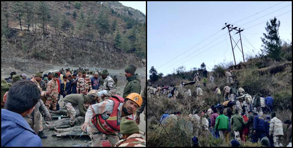 Image: 10 pics of rescue operation in chamoli