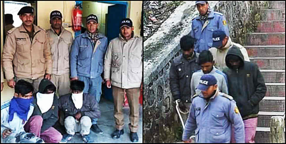Image: Three accused of karnprayag rape case