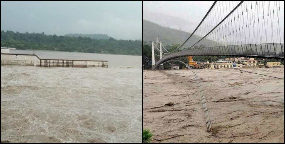 Image: Ganga reaches the danger mark in Haridwar