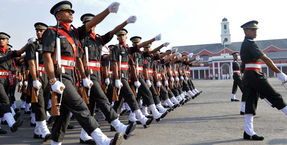 Image: IMA passing out parade