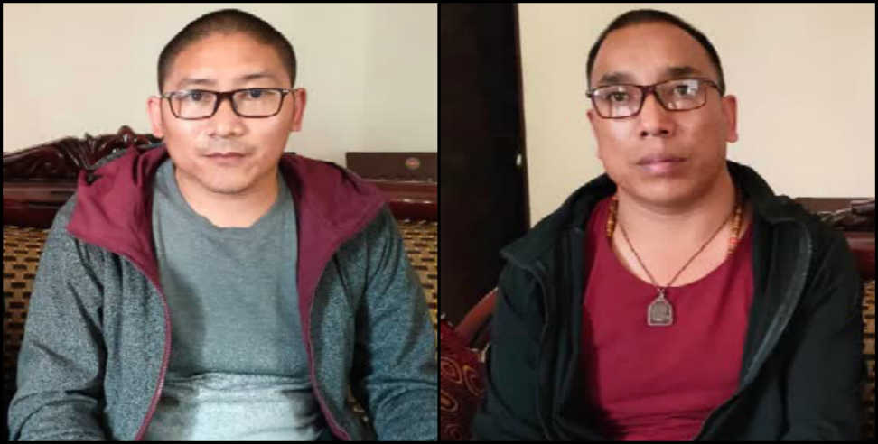 Image: Chinese citizens and lama arrested for illegally entering in india from Nepal border