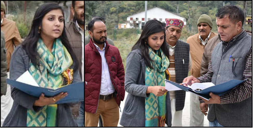 Image: Dm oversaw development works in chamoli