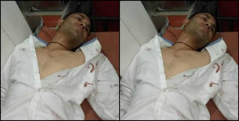 Image: People tried to murder advocate in nainital