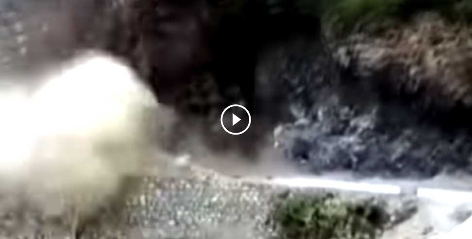 woman died in landslide road blocked in mussoorie - Heavy Rain, Landslide, Mussoorie, Road Blocked, Ut,उत्तराखंड,