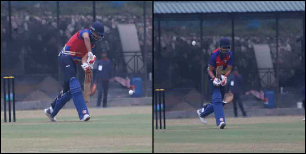 Image: First victory of Uttarakhand by defeating Hydrabad to five wickets