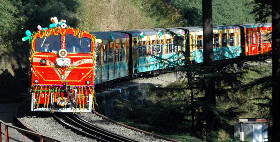Image: rishikesh karnprayag rail line crs special train trial done