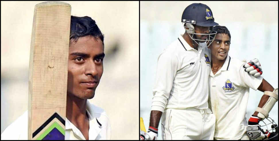 Image: Abhimanyu easwaran century in duleep trophy final
