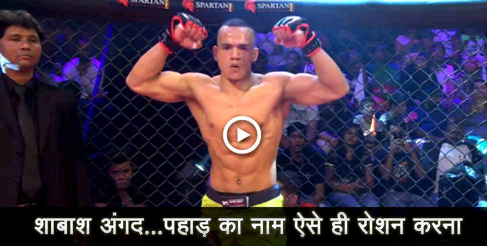 Image: Angad bisht the mma fighter life story