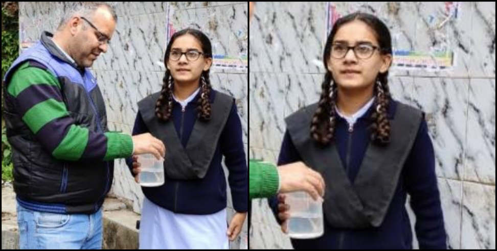 Image: Neha selected for national children science congress
