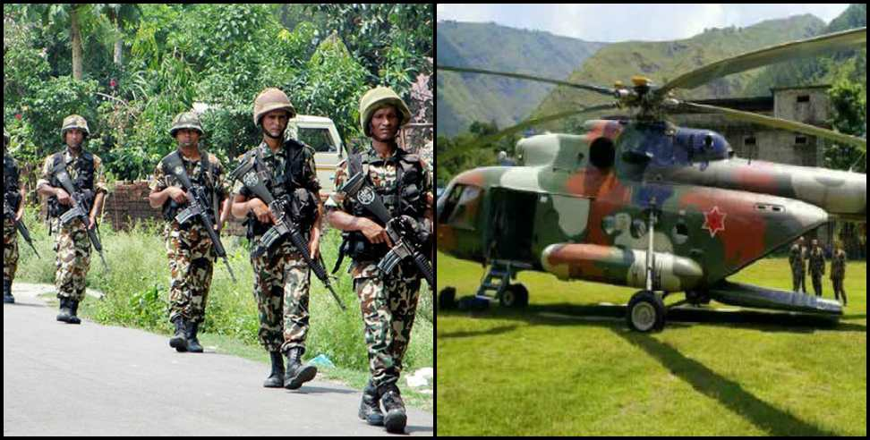 Image: Nepal appoints soldiers on uttarakhand border starts patrolling
