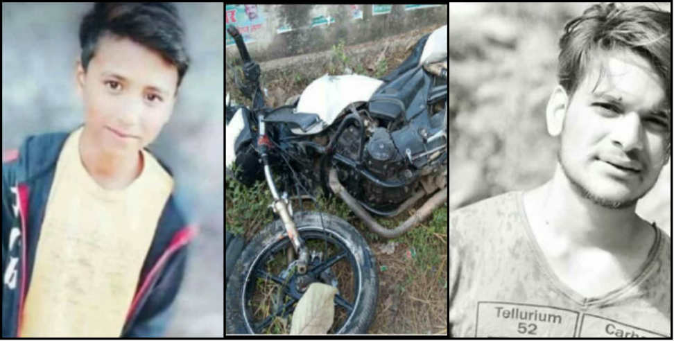 Image: Three youth died and three injured during bike racing in ramnagar