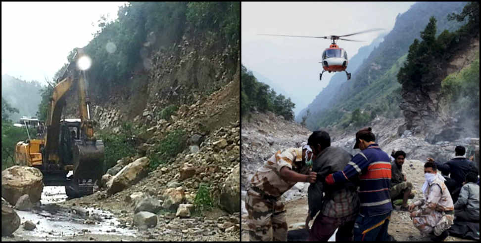 Image: rain and weather update uttarakhand badrinath kedarnath rout