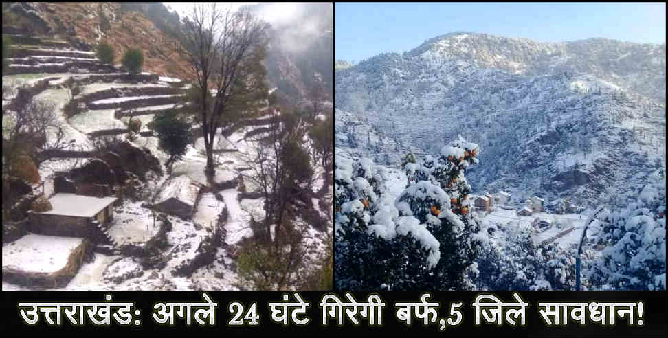 Image: Weather forecast for uttarakhand