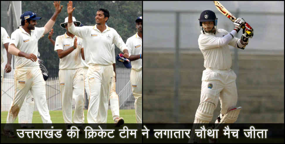 Image: uttarakhand cricket team won consicutive four match in vijay hazare trophy