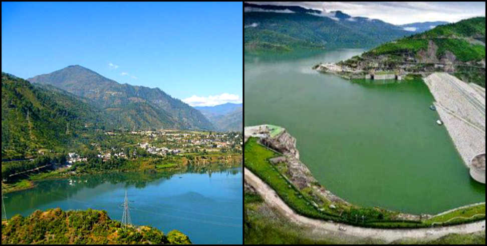 Image: Tehri dam water level scaring the villagers