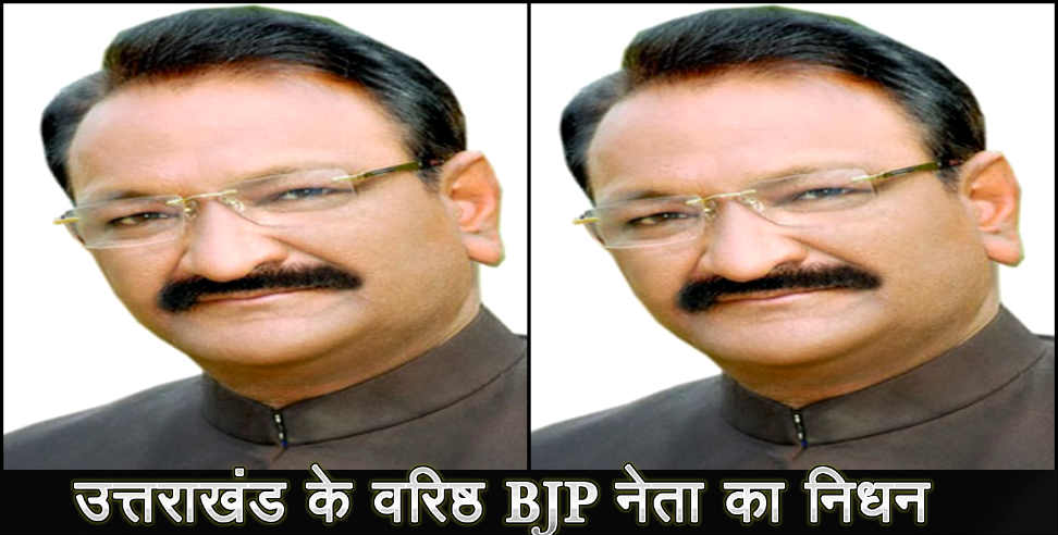 Image: UMESH AGRWAL BJP LEADER DIED