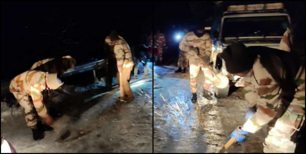 Image: More than 400 people have been rescued by ITBP