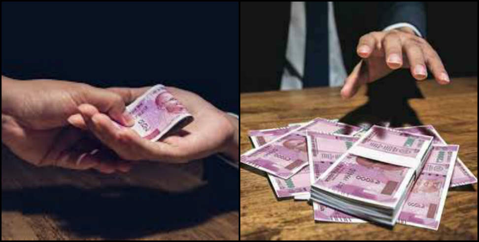Image: 50 percent people gave bribe for government work in uttarakhand