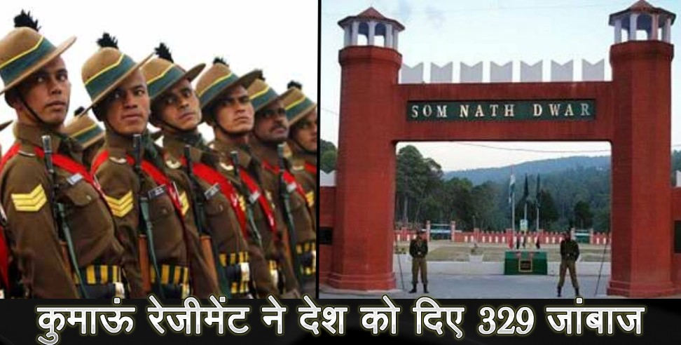 Image: 329 jawan join indian army of kumaon regiment