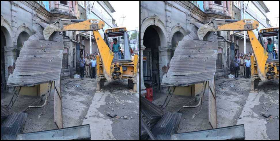 Image: Action against encroachment in Dehradun
