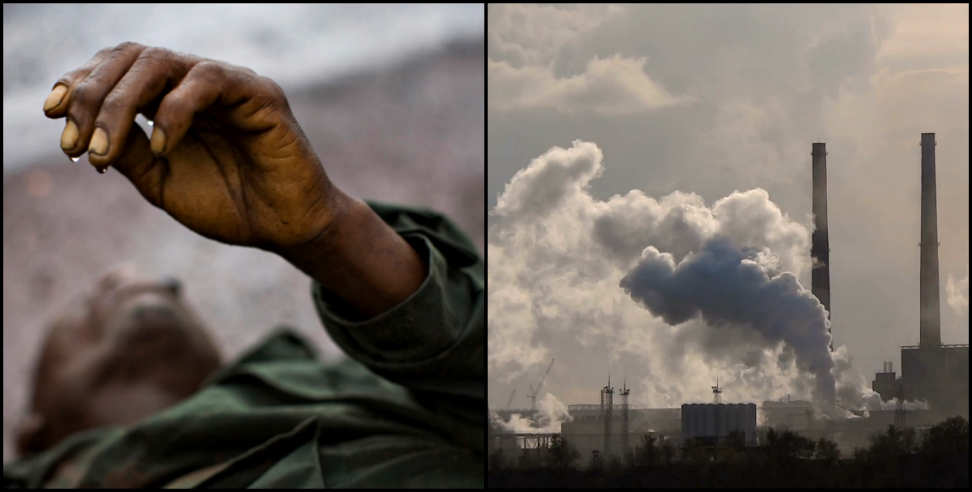 Image: Factory pollution making people ill in roorkee