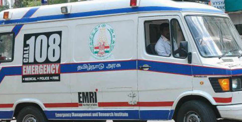 almora: Delivery of mlas relative in 108 ambulance newborn baby died