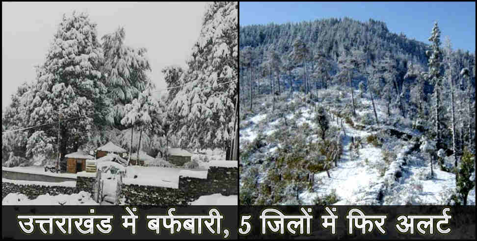 Image: Problem increased in uttarakhand after rain and snowfall