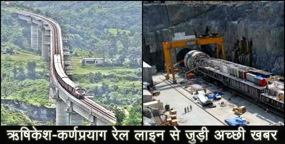 Image: Rishikesh karnprayag rail line land acquisition complete in Uttarakhand