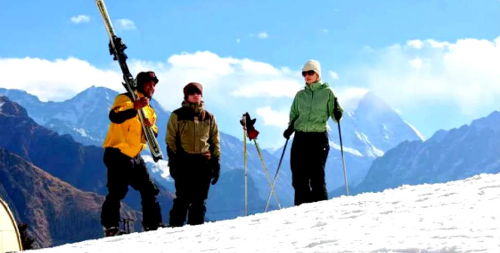 राष्ट्रीय: National skiing games to be held in uttarakhand