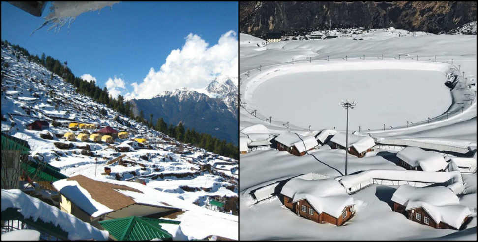 Image: Auli hotels booking full before new year 2020