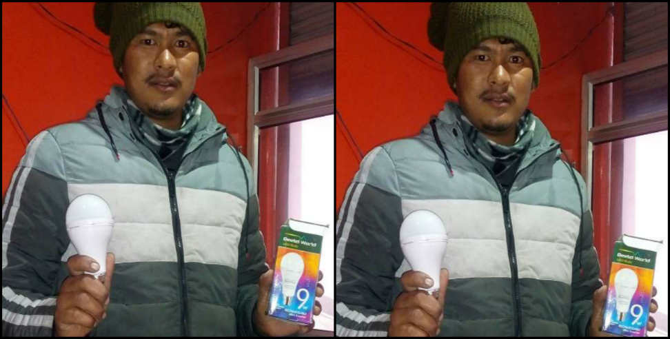 Image: Champawat youth learn bulb making from youtube