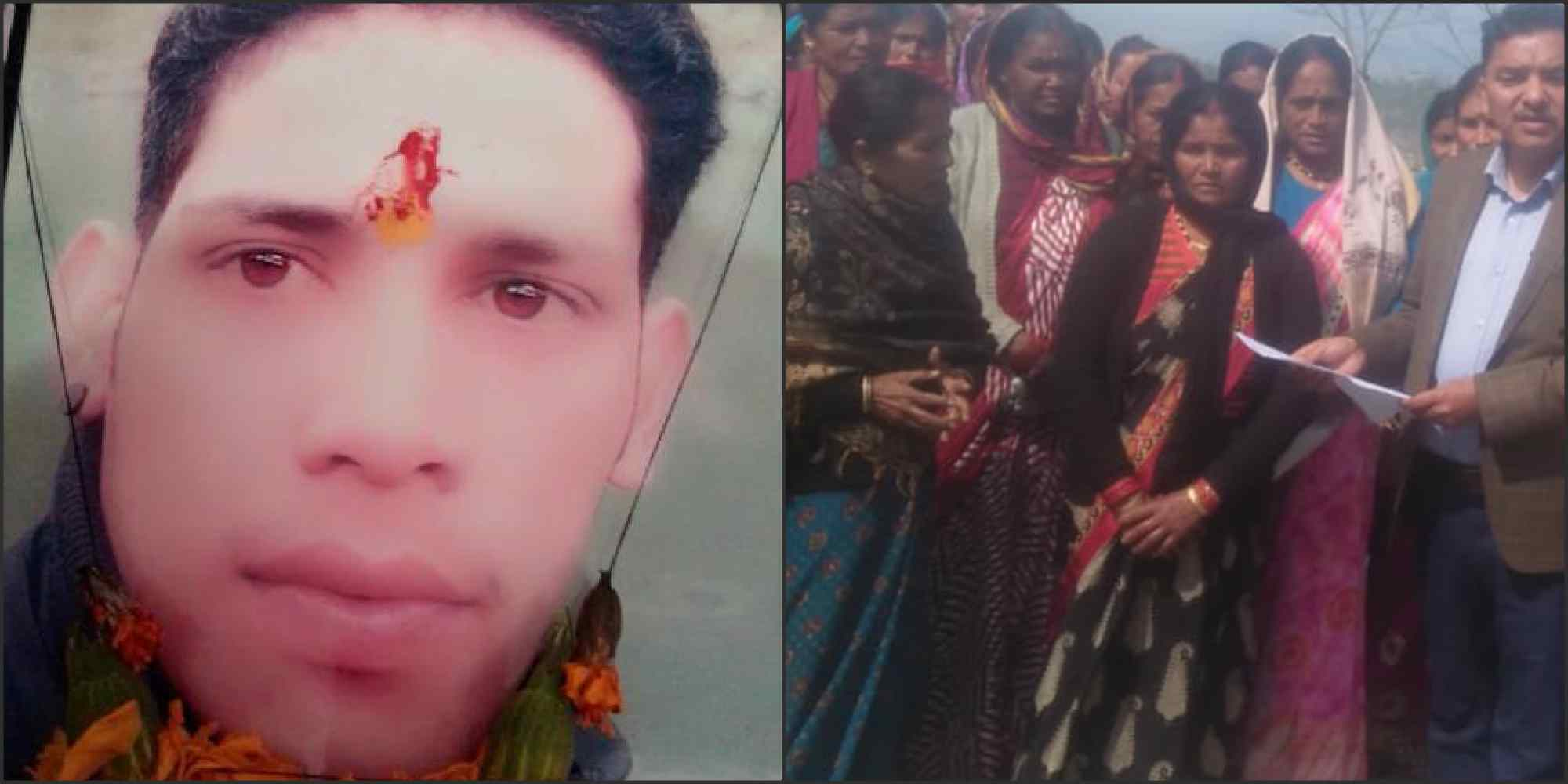 Image: Youth killed in almora mother request to IAS Nitin bhadauria