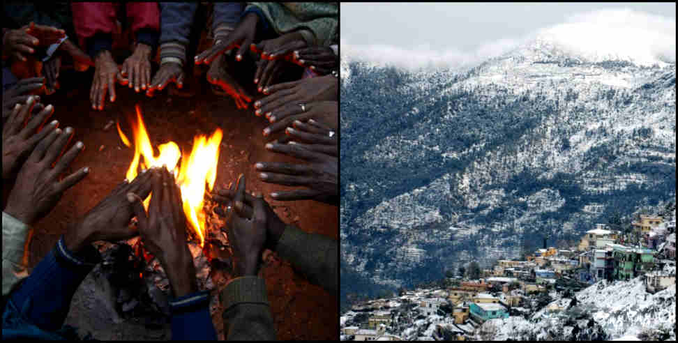 Image: Cold wave in uttarakhand