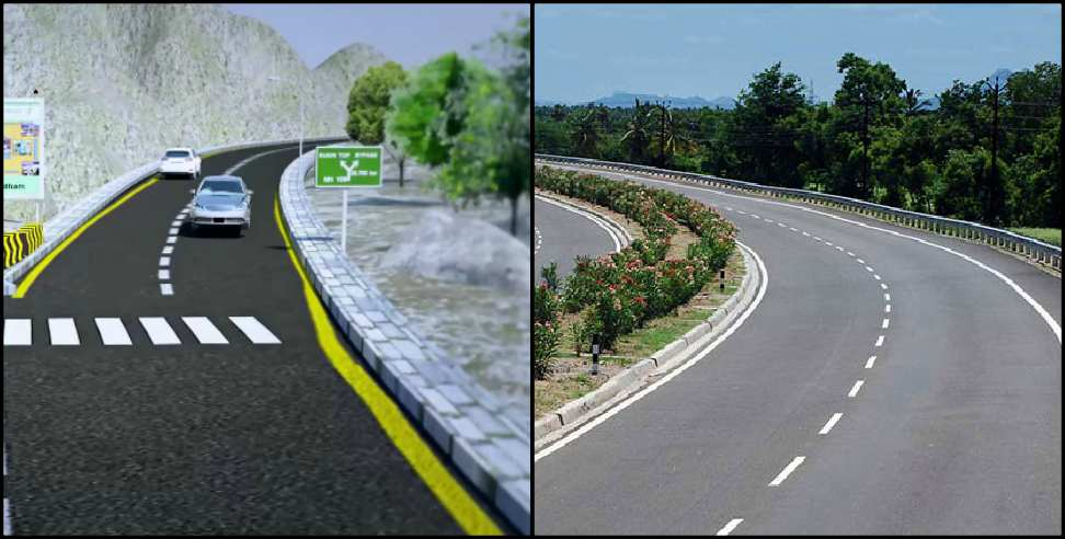 Image: Char Dham All Weather Road Project Rishikesh to Srinagar Garhwal