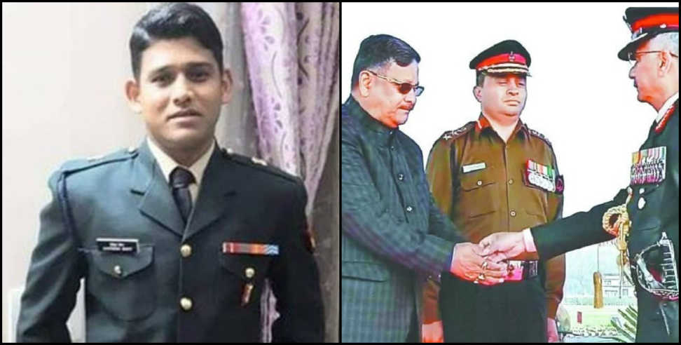 Image: sena medal honor to martyr major chitresh bisht on army day