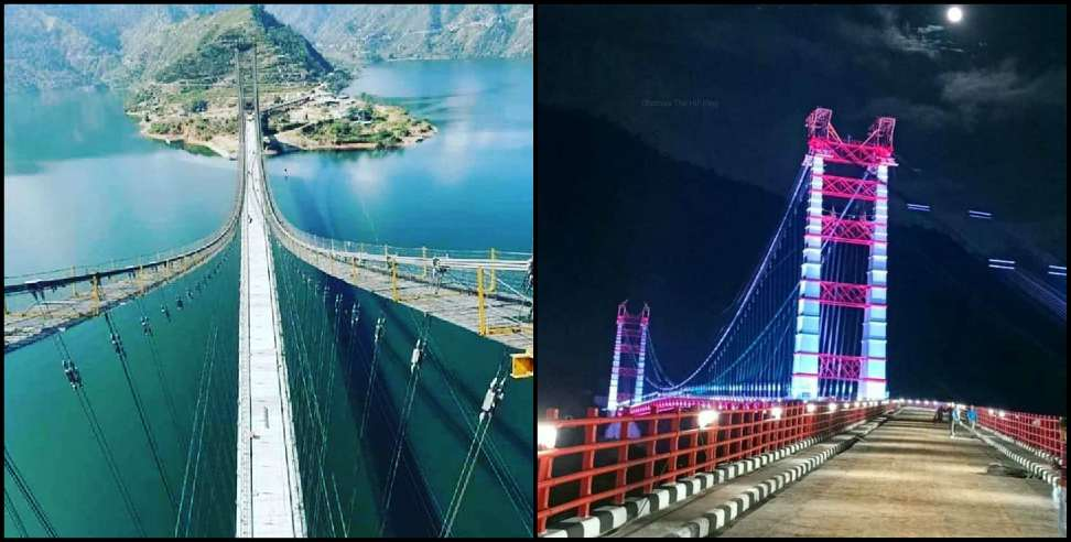Image: Dobra Chanthi Single Lane Suspension Bridge