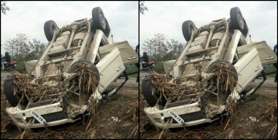 road accident in uttarakhand two people died