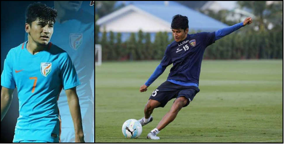 Image: Aniruddha from dehradun got selected in national football team