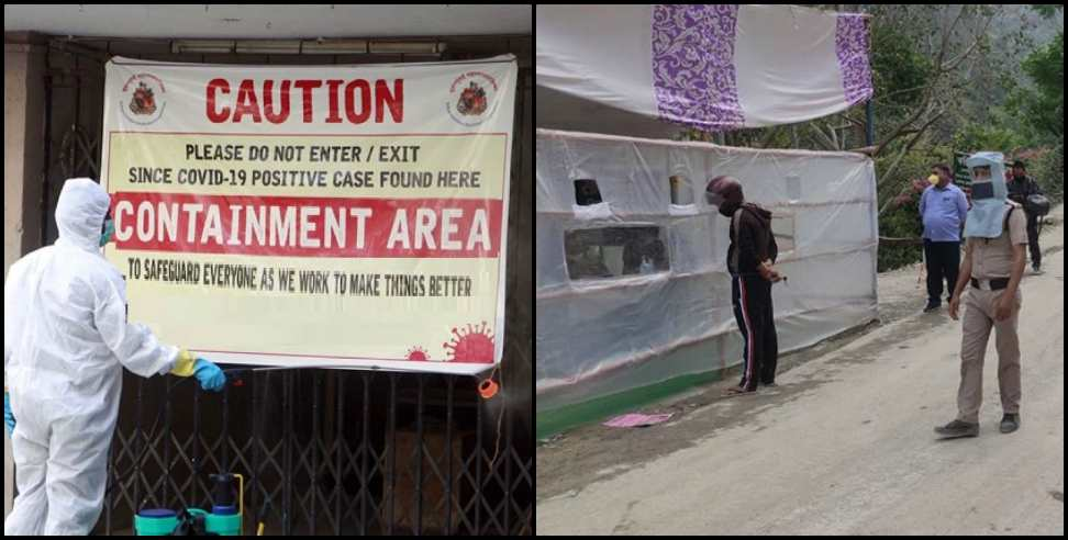Image: 108 Containment Zone in Uttarakhand