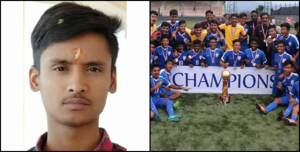 Image: Uttarakhand became football champion