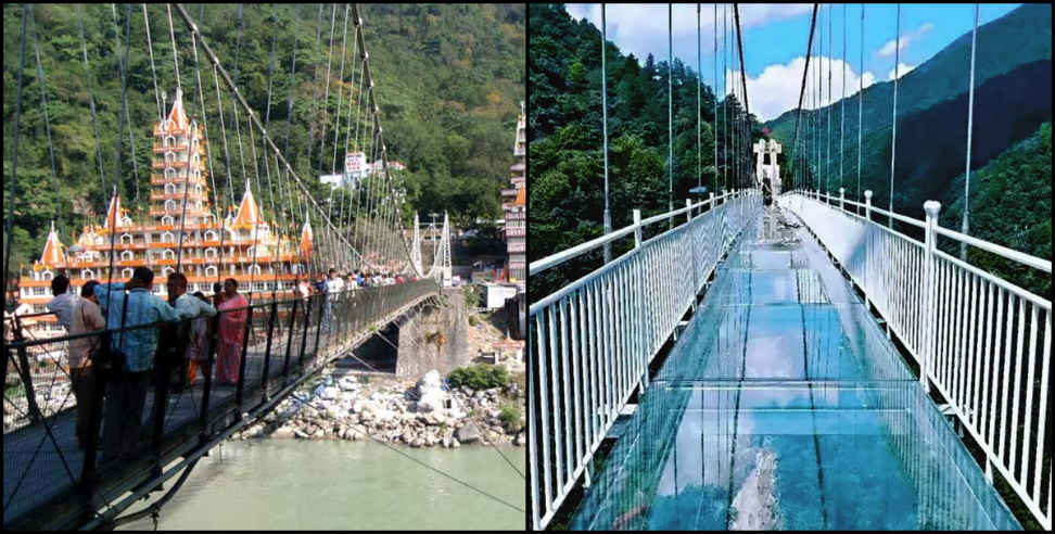 Image: Light vehicles will run on the new lakshman jhula bridge