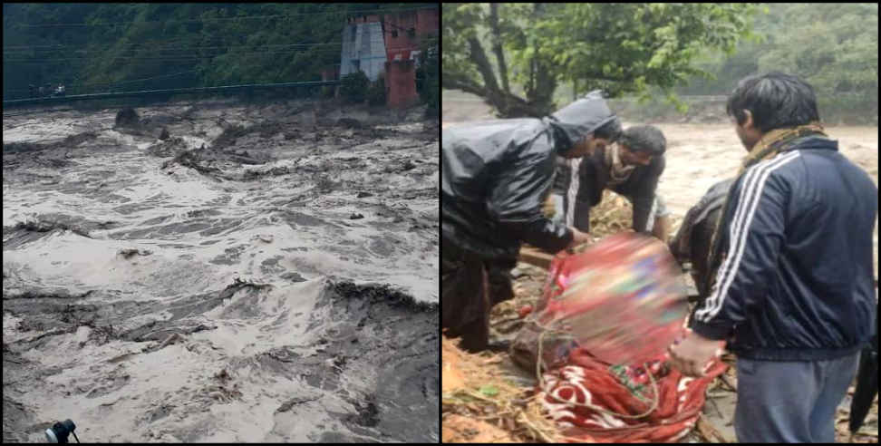 Image: uttarkashi flood update pic